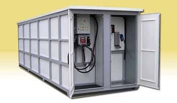 diesel adblue tankstelle yellowbox bluebox petro box. Black Bedroom Furniture Sets. Home Design Ideas
