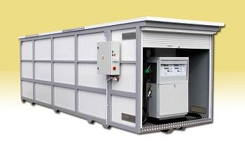 tankstellencontainer f r diesel benzin yellowbox. Black Bedroom Furniture Sets. Home Design Ideas