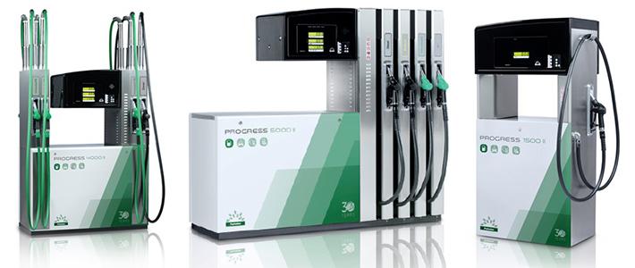 Industriezapfsäulen kommerzielle Zapfsäulen Petrotec