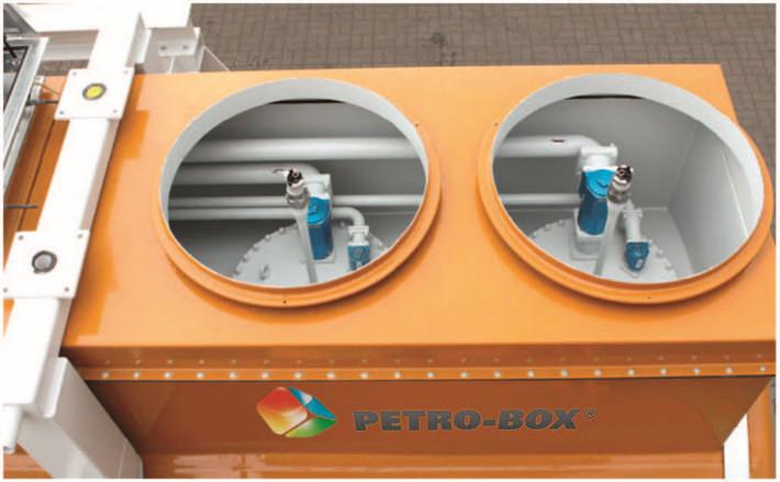Unterirdische Tankanlagen für Diesel, Benzin, AdBlue