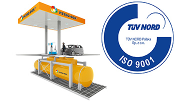 Unterirdische Tankanlagen für Diesel