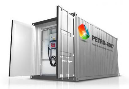 tankstellencontainer in iso ma en cargobox petro box betriebstankstellen tankcontainer. Black Bedroom Furniture Sets. Home Design Ideas