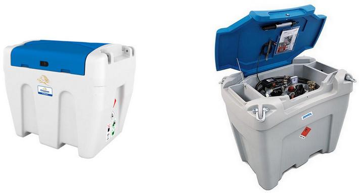 Mobile Tankanlagen für AdBlue 900 Liter